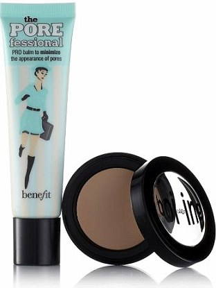 Benefit Pore Fessional and Boi-ing Concealer