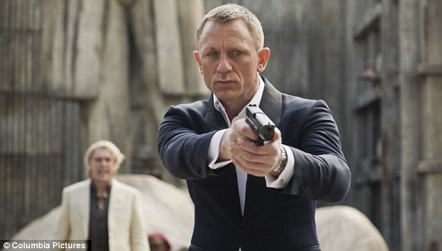 Patriotic: It was a year with a pronounced British accent, with box-office triumphs including James Bond and the adaptation of Oxford don J.R.R. Tolkien's The Hobbit