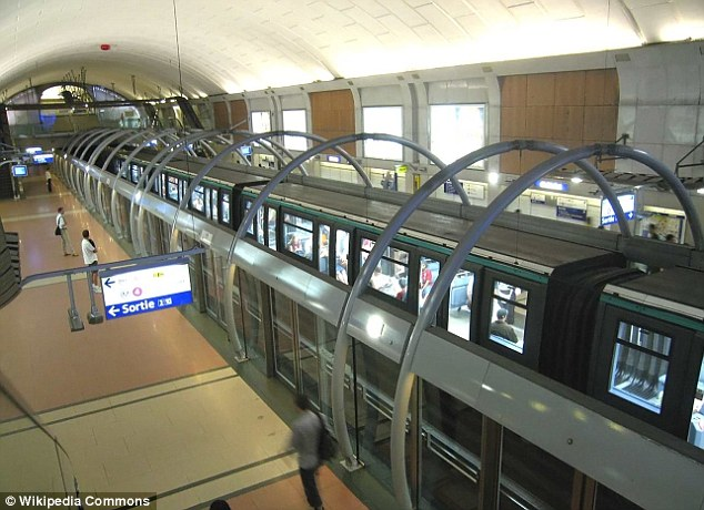 Safety: The Paris Metro has installed similar security measures on some of its lines
