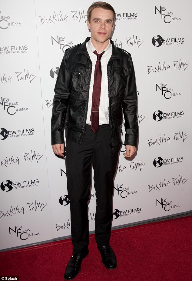 Lucky escape: Nick Stahl will not be charged with committing a lewd act at a porn shop in Los Angeles