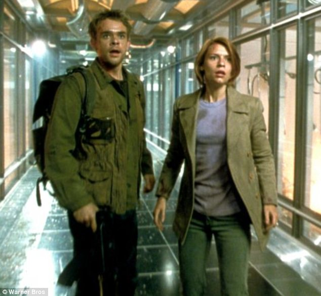 Troubled: The actor, pictured with co-star Claire Danes, is best known for starring in Terminator 3: Rise of the Machines