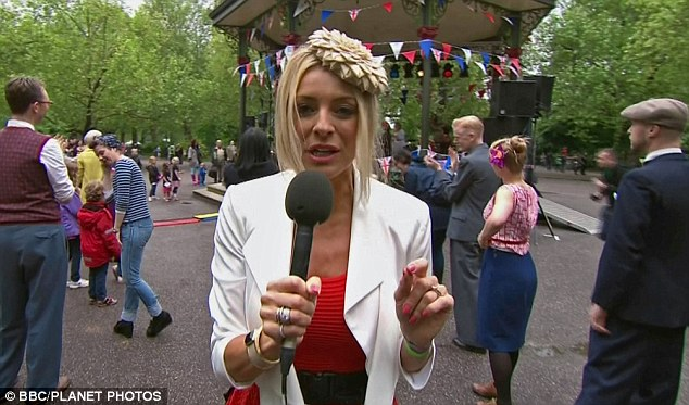 Just not good enough: Michael Buerk was highly critical of the BBC's coverage of the Diamond Jubilee - which included Tess Daly