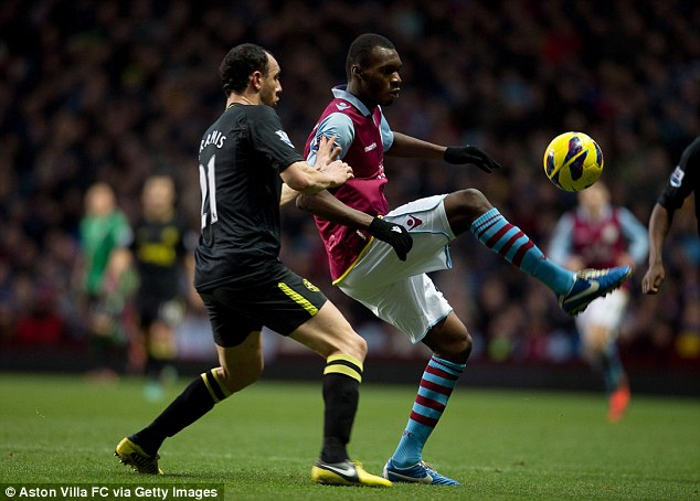 Off-colour: In the past few games Christian Benteke has not been at his best