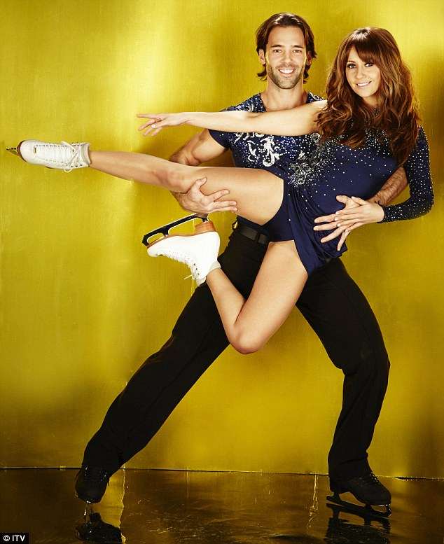 Hot stuff: Viewers will be even more intrigued to see the chemistry between Samia and Sylvain when the show starts in January thought to have developed feelings for each other while training for Dancing On Ice