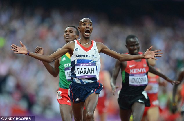 Disbelief: Olympic champion Mo Farah said that he gets detained every time he enters the U.S. due to his Somali origin