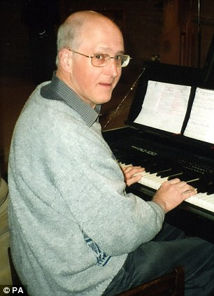Organist: Mr Greaves had been on his way to play at the church on Christmas Eve when he was attacked