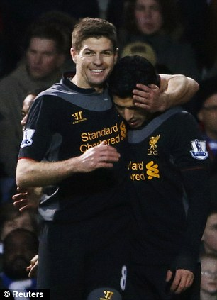 Back to their best: Steven Gerrard says Liverpool's win was their best performance of the season