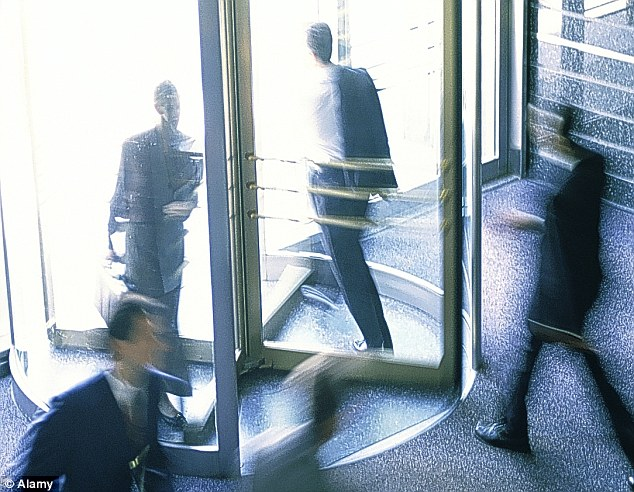 Men on the move: Bosses at some of Britain's biggest companies will be heading for the door in 2013