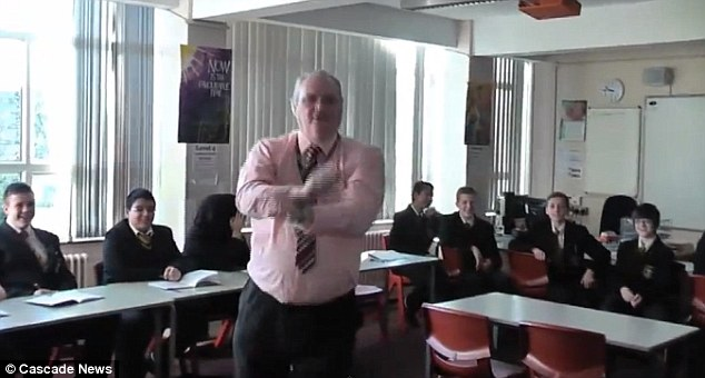 Head teacher Xavier Bowers has insisted the video has had 'an overwhelming good response'