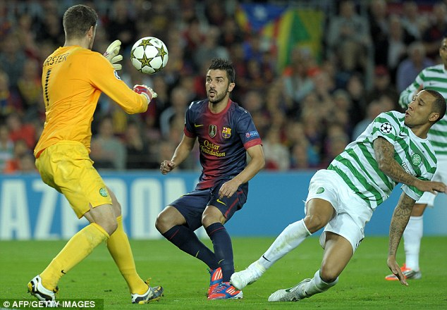 London calling: David Villa is attracting interest from Chelsea and Arsenal