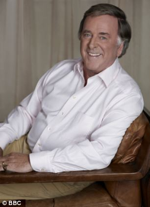 Pet hate: Radio 2 presenter Sir Terry Wogan bemoans his lack of ability to open a tin of sardines on BBC1's Room 101