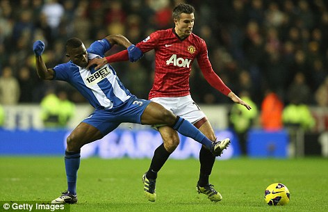Deserved: Wigan manager Martinez admitted it was a mismatch