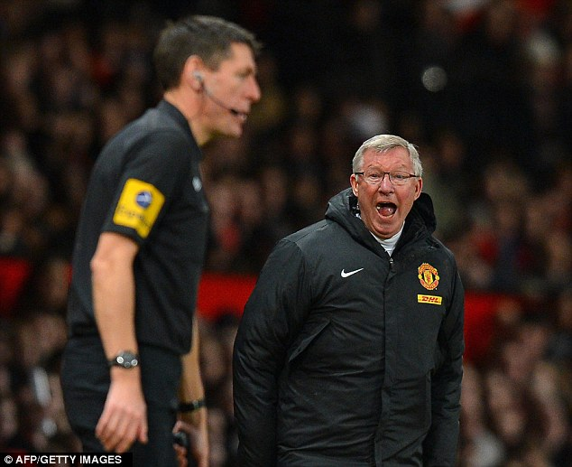 The fire still burns: Manchester United's manager is as combative as ever after more than 25 years at Old Trafford