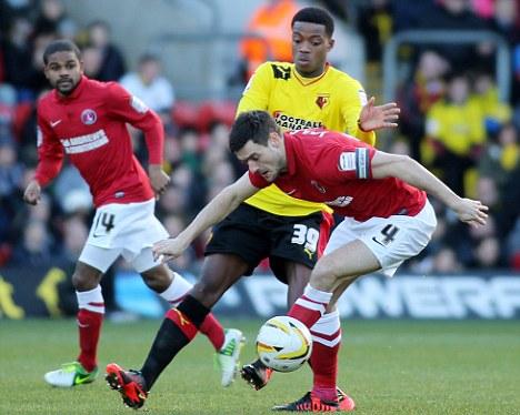 Match winner: Jackson sealed the three points for Charlton
