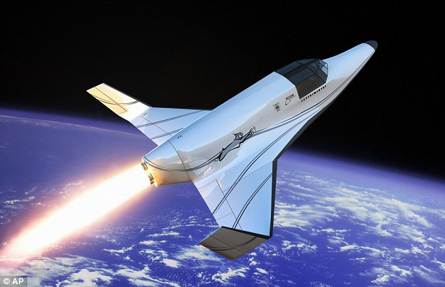 Xcor Aerospace's two-seat rocket ship the Lynx which is the size of a small private plane