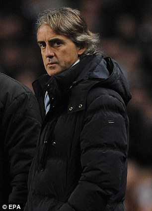 Heat is on: Roberto Mancini must claw back seven points in the title race
