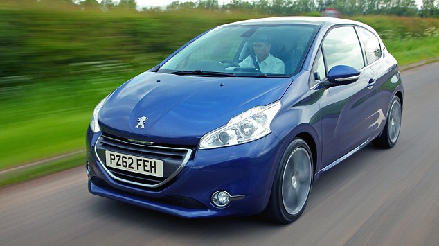 Doldrums: Peugeot had a tough 2012, with sales slumping 17.5 in its homeland