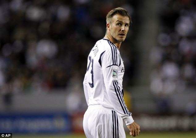 Has Beckham given up pllaying for LA Galaxy so he can appear in Superstars?