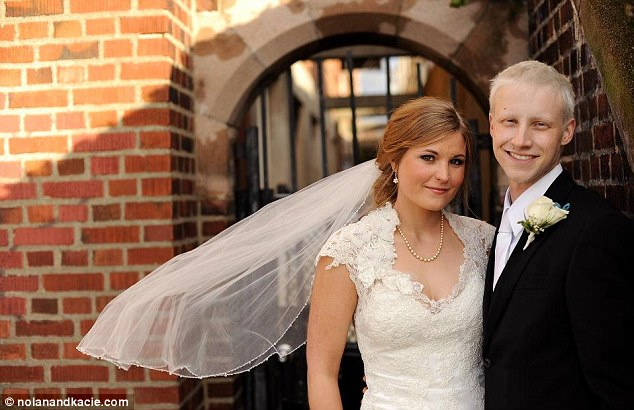 Fighter: Although Nolan's cancer came back with a vengeance, that did not stop him and his newlywed wife from going on a honeymoon and then traveling to Europe