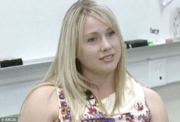 Popular: Denman taught social sciences and was the cheerleading coach at Hoover High School