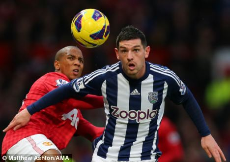 Steve Clarke says West Brom midfielder Graham Dorrans will be free to leave for the right deal this month