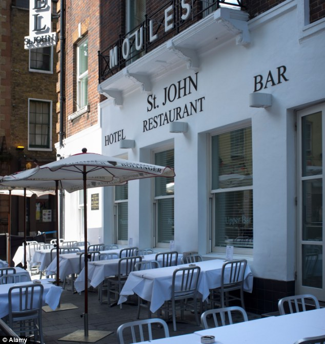 Loss-making venture: St John Hotel and Restaurant in the West End has gone into administration