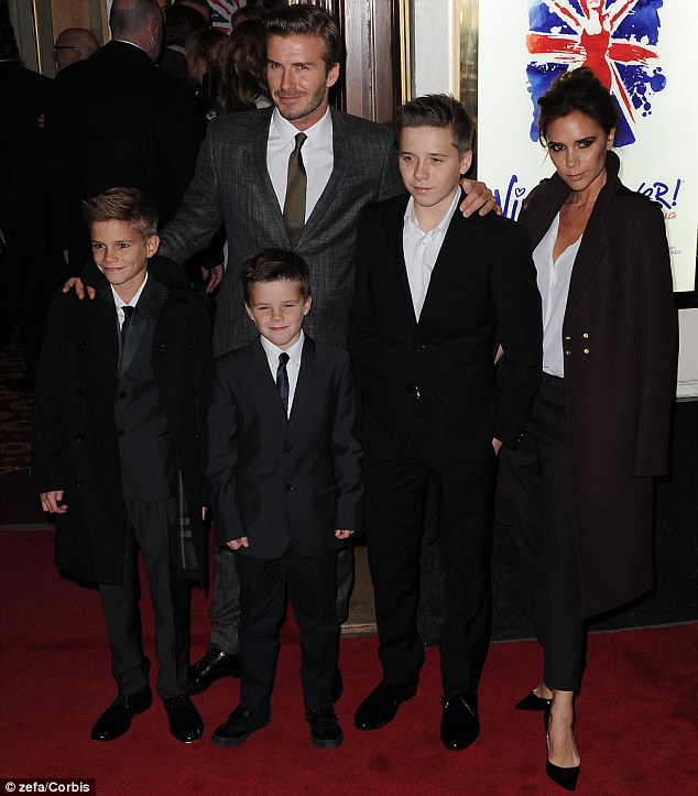 Homeward bound: The Beckhams have confirmed they are moving back to London.