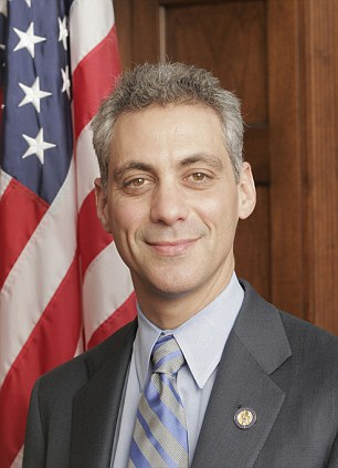 Master of evasion: Makers of a new Discovery channel documentary said that of all 19 living presidential chiefs of staff, Rahm Emanuel was the 'most challenging'