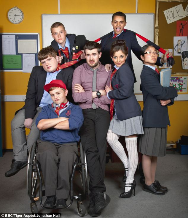 Good education: The star of Bad Education is said to enjoy the attention of young female fans