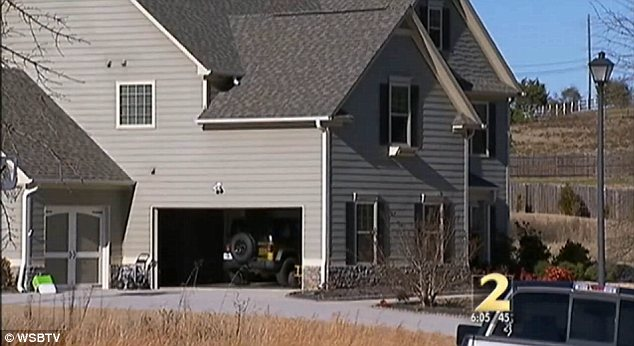 Home invasion: The woman was home with her 9-year-old twins in their Loganville home, when the suspect began ringing the doorbell