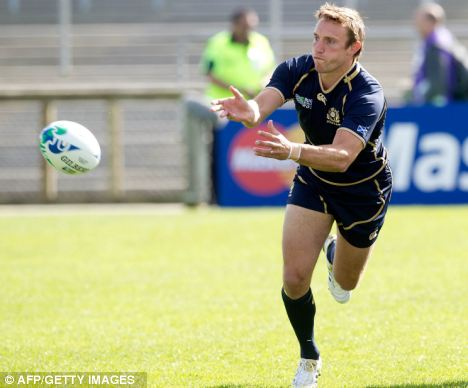 Moving on: Blair's Scotland career is over