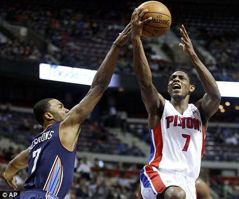 London calling: Detroit Pistons will host the Knicks at a sold-out O2 Arena next Thursday