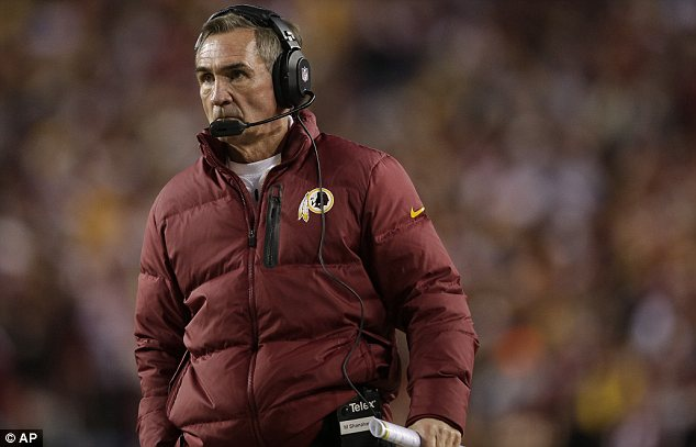 Coach: Many have questioned Redskins head coach Mike Shanahan's decision to leave Griffin in the game, and whether he should have been on the field in the first place