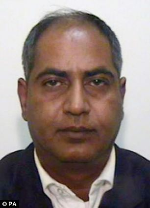Co-defendant: Abdul Qayyum, 43 was jailed for five years for his part in the grooming