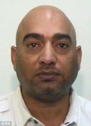 Co-defendent: Mohammed Amin, 45, were both jailed for five years for his part in the grooming