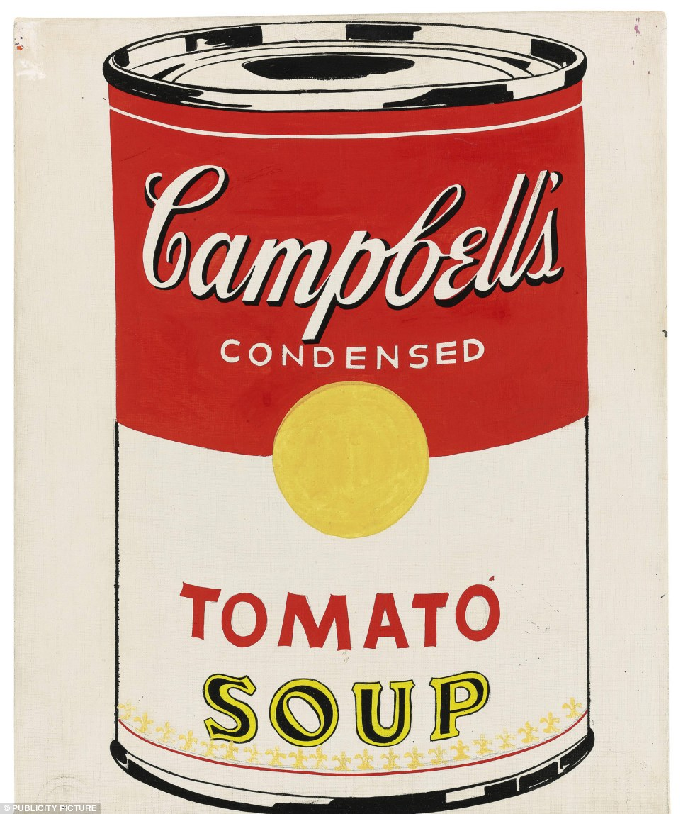 Can do: As Andy Warhol knew modern culture would be nowhere without the tin can, invented by Peter Durand in 1810