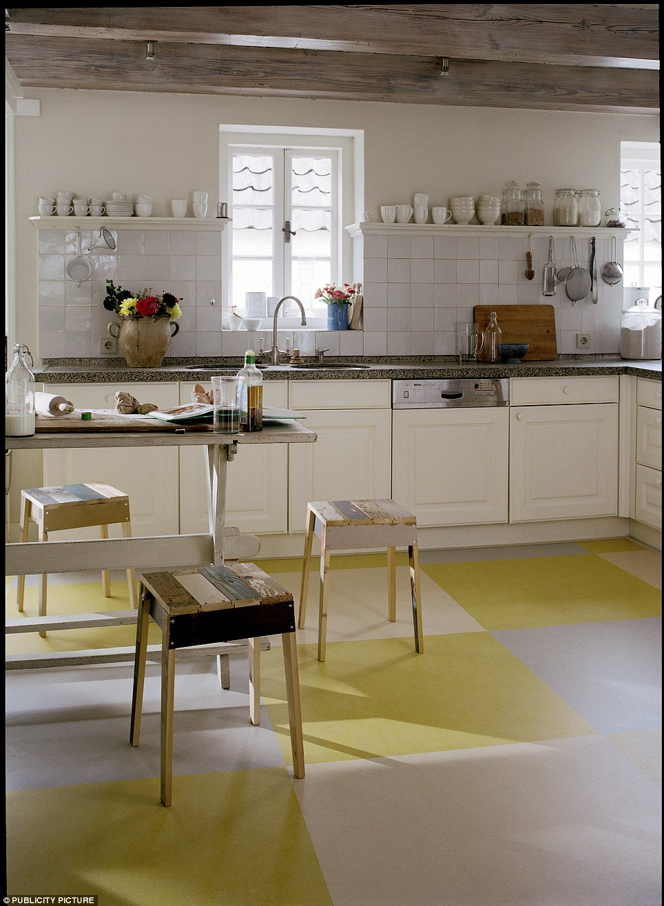 Mixing hygiene and design the modern kitchen would look somewhat naked without linoleum, which first came into existence in 1860 and was invented by Frederick Walton