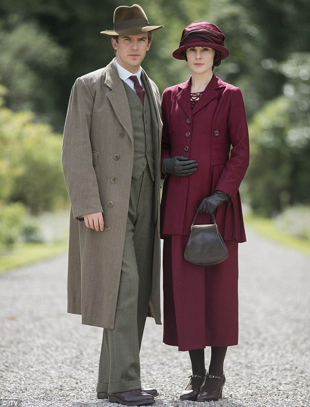 Favourites: Dan Stevens as Matthew Crawley and Michelle Dockery as Lady Mary