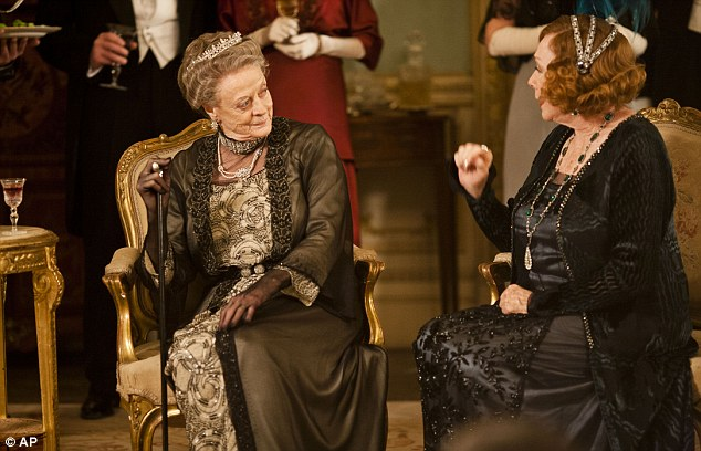 Star turn: Maggie Smith and Shirley MacClaine go head-to-head in the new season