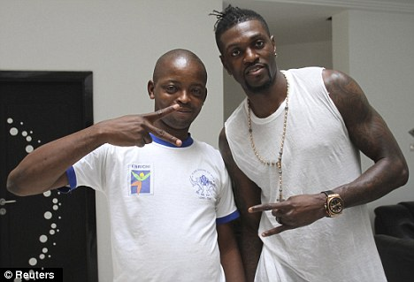 Representing Togo: Spurs striker Emmanuel Adebayor is going to the Africa Cup of Nations