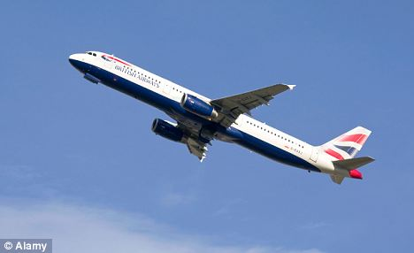 Reach for the skies: More business and first class travellers were a real fillet for BA