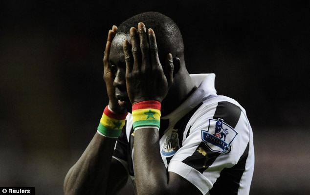 Ba's departure will give Papiss Cisse more chance to play through the middle