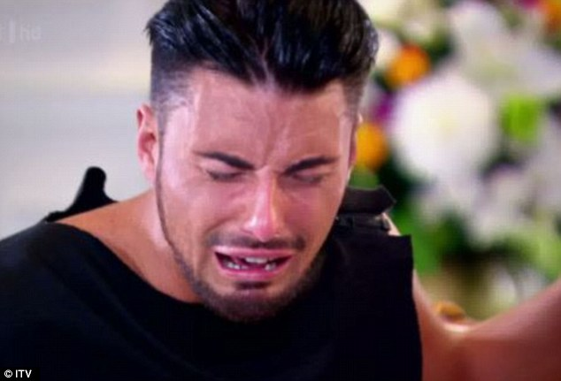 Extreme: Rylan's sobbing scene fast went viral with millions commenting on the over the top reaction