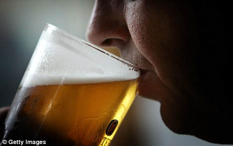 Rates: Binge drinking for females is defined as four or more drinks in a single session while for men it's at least five