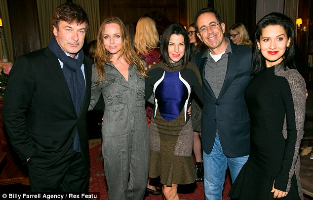 New York State of Mind: The Baldwins with Stella McCartney and Jerry and Jessica Seinfeld
