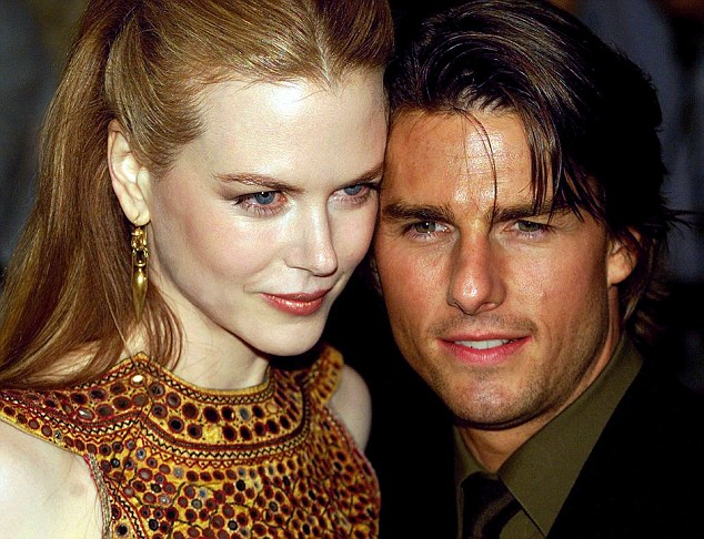 Love life: The book claims scientology boss David Miscavige went to extreme lengths to keep Cruise and Nicole Kidman happy when the pair were married