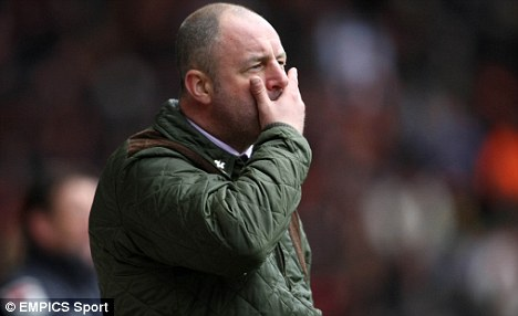 Sacked: Keith Hill was shown the exit door last month