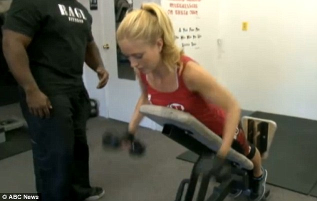 How Miss America contestants work out