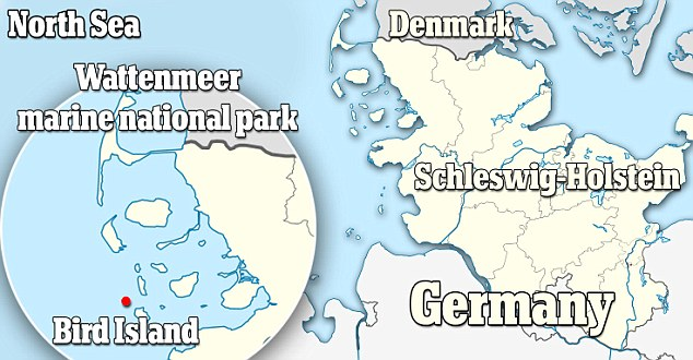 new german Island Locator