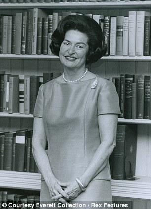 First Lady, Lady Bird Johnson, in 1964